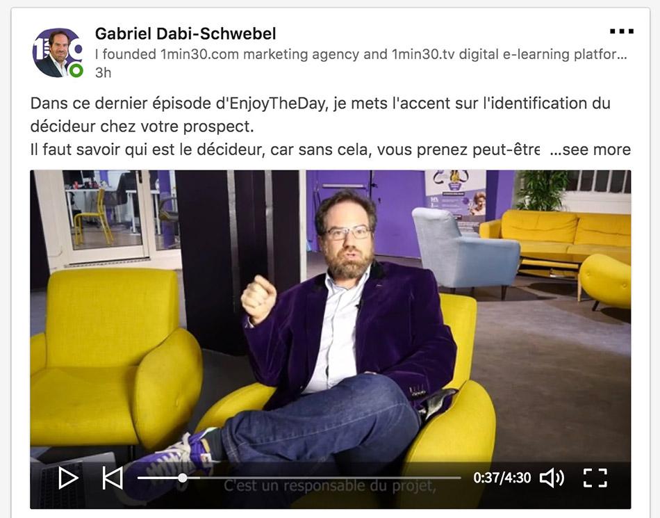 LinkedIn : passez à la vitesse supérieure avec les vidéos natives
